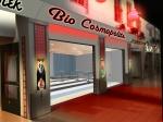 Förslag till utformning av entré mot köpcentrum