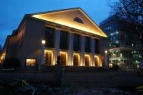 Fasadbelysning, Huvudentré Lorensbergsteatern